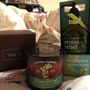 Bath & Body Works Stress relief bundle